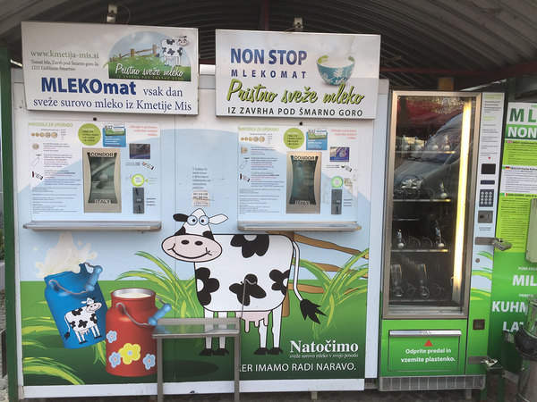 Get yourself some fresh milk without all that plastic waste!