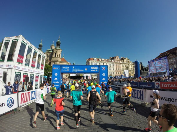 Prague marathon is often called one of the most beautiful marathons – not surprisingly, in a city like this