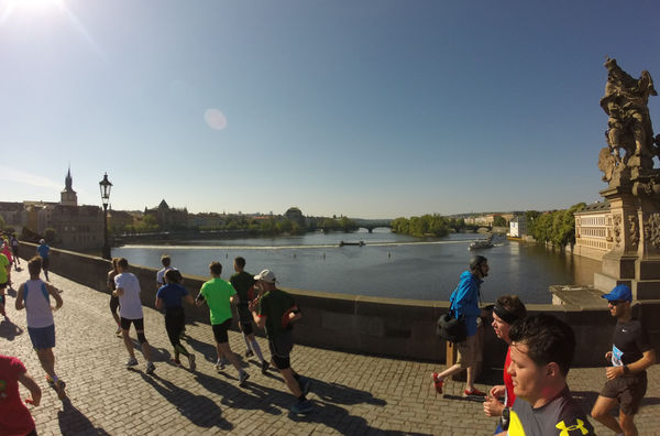 And then, Vltava river crossing…